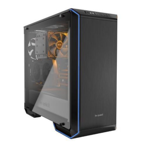 Be Quiet! Dark Base 700 RGB LED Gaming Case with Window, E-ATX, No PSU, 2 x SilentWings Fans, Switchable LED Colours