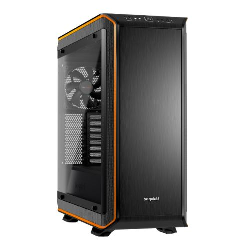 Be Quiet! Dark Base Pro 900 Rev2 Gaming Case, E-ATX, No PSU, PSU Shroud, 3 x SilentWings 3 Fans, LEDs, Wireless Charger, Orange Trim