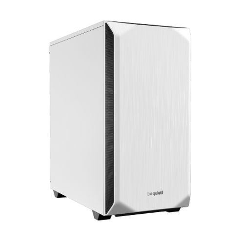 Be Quiet! Pure Base 500 Gaming Case, ATX, No PSU, 2 x Pure Wings 2 Fans, PSU Shroud, White