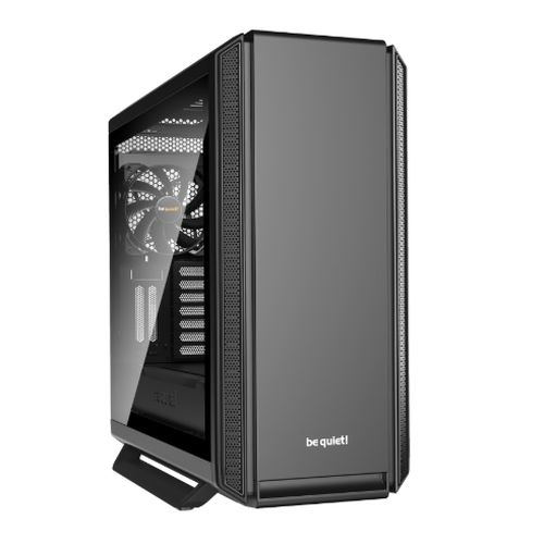 Be Quiet! Silent Base 801 Gaming Case with Window, E-ATX, No PSU, 3 x Pure Wings 2 Fans, PSU Shroud, Black