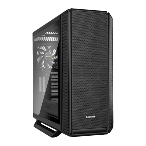 Be Quiet! Silent Base 802 Gaming Case w/ Glass Window, E-ATX, No PSU, 3 x Pure Wings 2 Fans, Fan Controller, USB-C, Interchangeable Top & Front