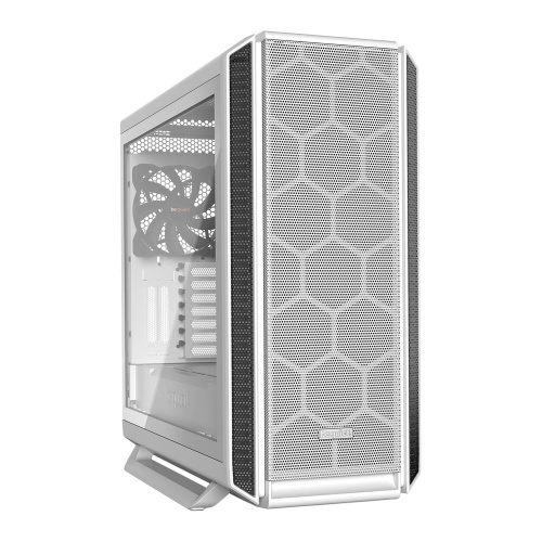 Be Quiet! Silent Base 802 Gaming Case w/ Tempered Glass Window, E-ATX, No PSU, 3 x Pure Wings 2 Fans, PSU Shroud, White