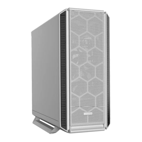 Be Quiet! Silent Base 802 Gaming Case, E-ATX, No PSU, 3 x Pure Wings 2 Fans, Fan Controller, USB-C, Interchangeable Top & Front, White