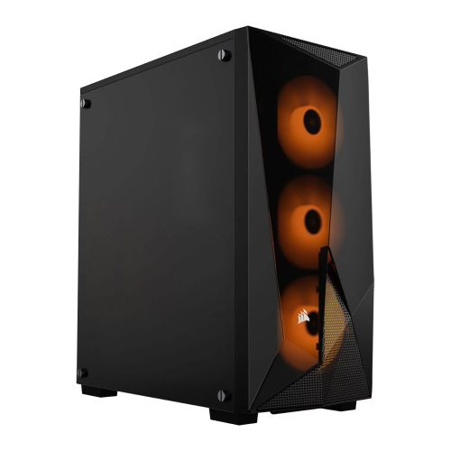 Corsair Carbide Series SPEC-DELTA RGB Gaming Case with Tempered Glass Window, ATX, High Airflow, 3 x RGB Fans