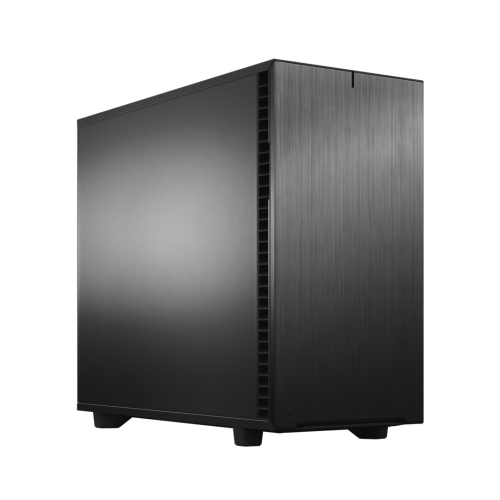 Fractal Design Define 7 (Black Solid) Gaming Case, E-ATX, Multibracket, 3 Fans, Fan Hub, Silence-optimized, USB-C
