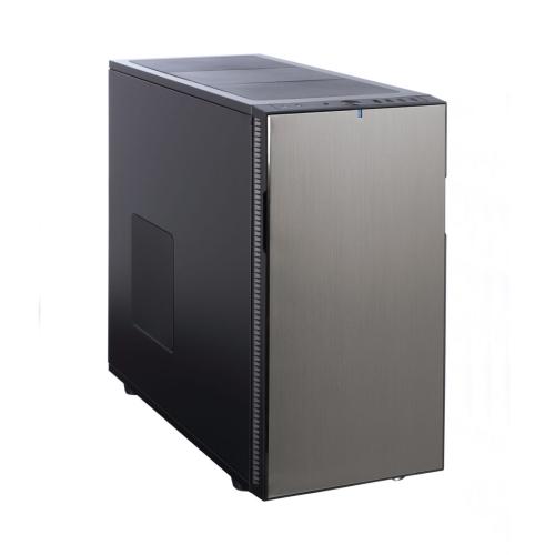 Fractal Design Define R5 (Titanium Grey Solid) Silent Gaming Case, ATX, 2 Fans, Fan Controller, Configurable Front Door, Ultra Silent Design