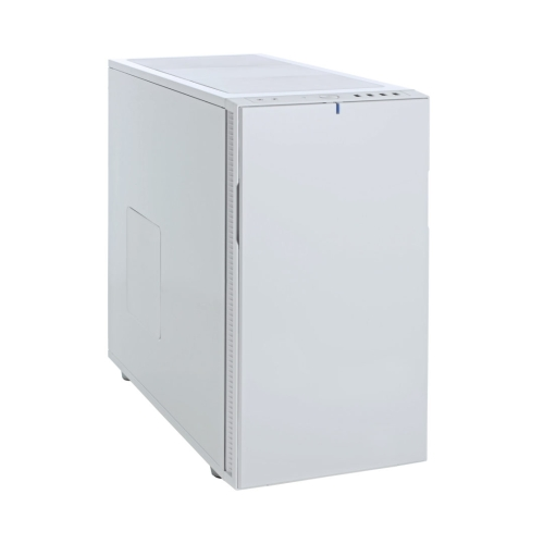 Fractal Design Define R5 (White Solid) Silent Gaming Case, ATX, 2 Fans, Fan Controller, Configurable Front Door, Ultra Silent Design