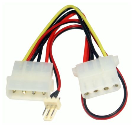 Spire 4-pin to 3-pin Fan Convertor Cable, 15cm