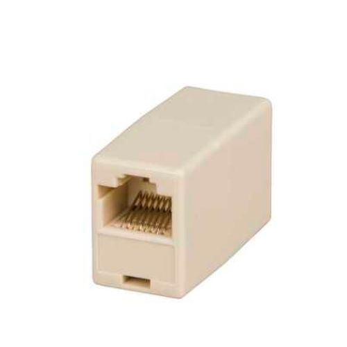 Spire Coupler for RJ45 CAT5E (100/1000Mbps) Patch Cables, Female To Female