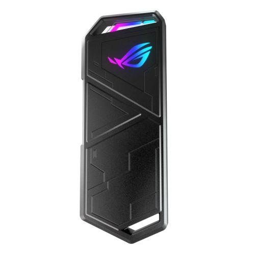 Asus ROG STRIX ARION 500GB S500 NVMe External SSD, USB 3.2 Gen2 Type-C, Aluminium, Thermal Pads, RGB Lighting
