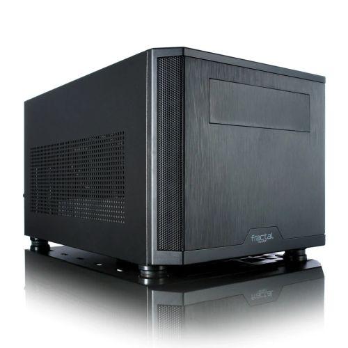 Fractal Design Core 500 (Black) Compact Cube Case, Mini ITX, ATX PSU & 310mm GPU Support, 280mm Watercooling, Magnetic Filters