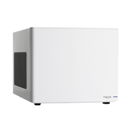 Fractal Design Node 304 (White) Compact Cube Case, Mini ITX, ATX PSU & 310mm GPU Support, Modular Interior, 3 Fans, Fan Controller