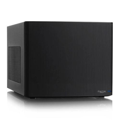 Fractal Design Node 304 (Black) Compact Cube Case, Mini ITX, ATX PSU & 310mm GPU Support, Modular Interior, 3 Fans, Fan Controller