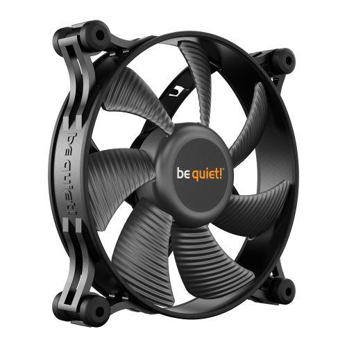Be Quiet! (BL084) Shadow Wings 2 12cm Case Fan, Rifle Bearing, Black, Whisper Quiet