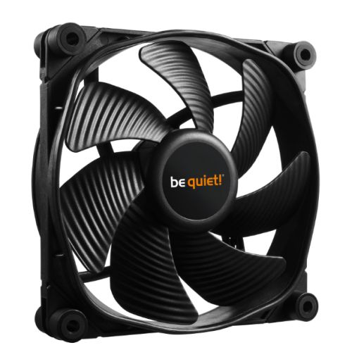 Be Quiet! (BL068) Silent Wings 3 12cm Case Fan, High Speed, Black, Fluid Dynamic Bearing