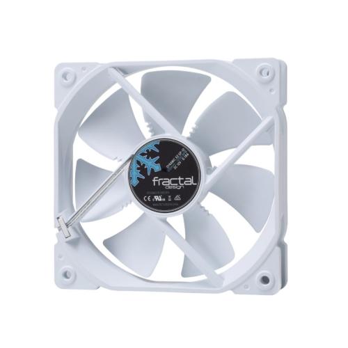 Fractal Design Dynamic X2 GP-12 12cm Case Fan, Long Life Sleeve Bearing, Counter-balanced Magnet, 1200 RPM, White