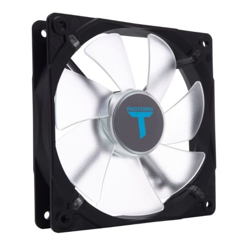 Riotoro Cross-X Classic Case Fan, 12cm, Hydraulic Bearing, Blue LED