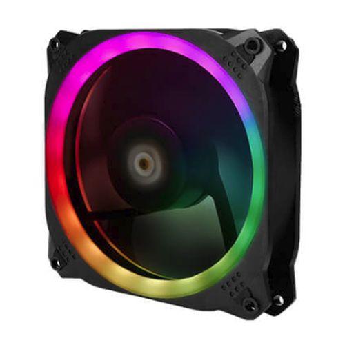 Antec Prizm 140 ARGB PWM RGB Kit, 14cm Case Fan, 18 RGB LEDs