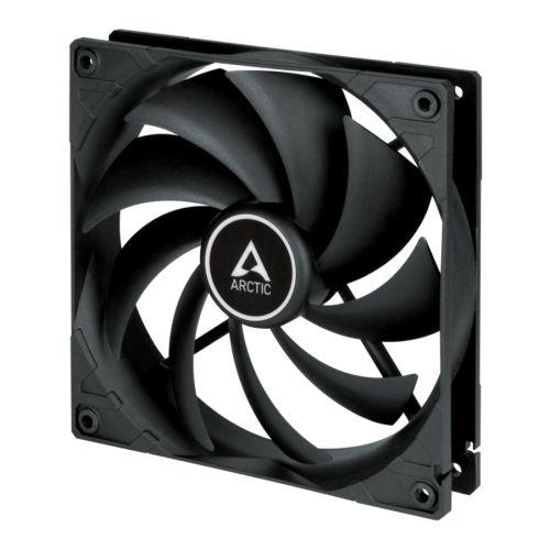 Arctic F14 14cm Case Fan, Black, 9 Blades, Fluid Dynamic, 6 Year Warranty