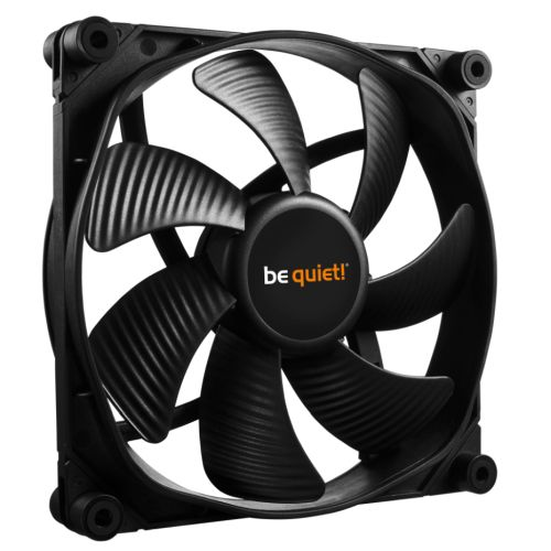 Be Quiet (BL071) Silent Wings 3 PWM High Speed Case Fan, 14cm, Black, Fluid Dynamic