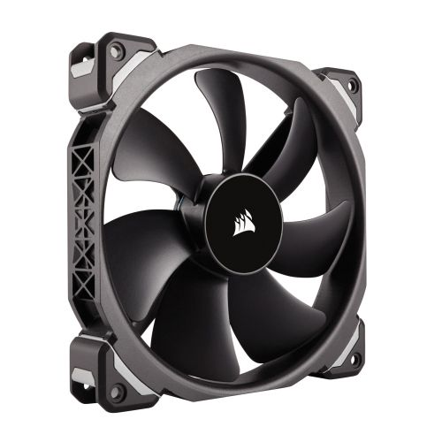 Corsair ML140 14cm Pro PWM Case Fan, Magnetic Levitation Bearing, Low Noise, 5 Year Warranty