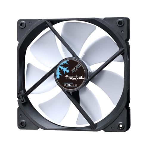 Fractal Design Dynamic X2 GP-14 14cm Case Fan, Long Life Sleeve Bearing, Counter-balanced Magnet, 1000 RPM, Black & White