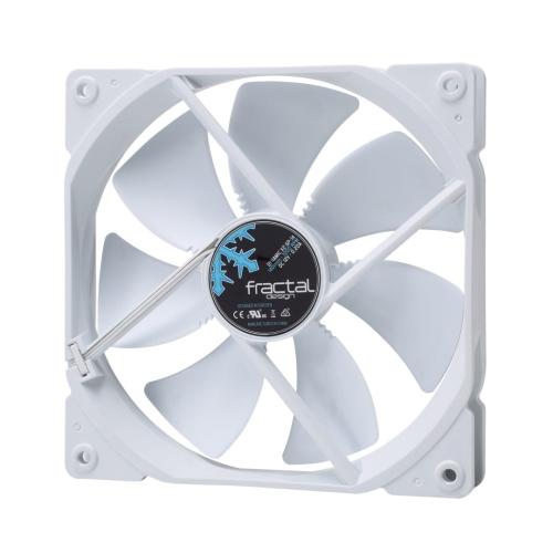 Fractal Design Dynamic X2 GP-14 14cm Case Fan, Long Life Sleeve Bearing, Counter-balanced Magnet, 1000 RPM, White