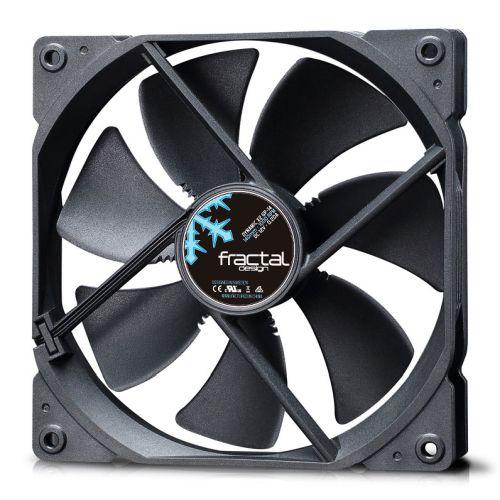 Fractal Design Dynamic X2 GP-14 14cm Case Fan, Long Life Sleeve Bearing, Counter-balanced Magnet, 1000 RPM, Black