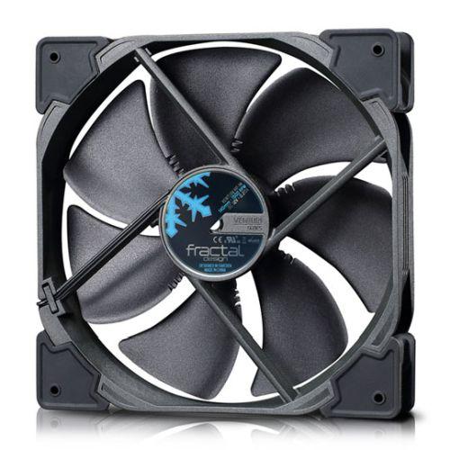 Fractal Design Venturi HP-14/PWM 14cm Case Fan, Fluid-Dynamic Bearing, Counter-balanced Magnet, 400-1500 RPM