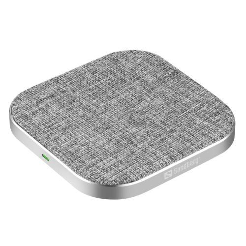 Sandberg Wireless Charging Pad, 15W, Aluminium, USB-C, Qi Compatible, 5 Year Warranty
