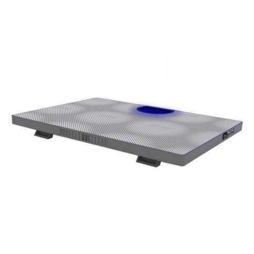 Approx (APPNBC05W) Laptop Cooler, 2 Fans, 3 LEDs, White, Retail