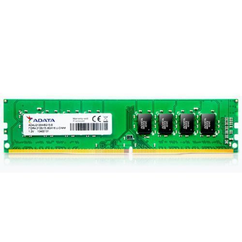 ADATA Premier, 8GB, DDR4, 2400MHz (PC4-19200), CL17, DIMM Memory, 1024x8, OEM (Anti Static Bag)