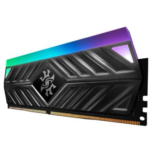ADATA XPG Spectrix D41 RGB LED 8GB, DDR4, 3000MHz (PC4-24000), CL16, XMP 2.0, DIMM Memory, Tungsten Grey