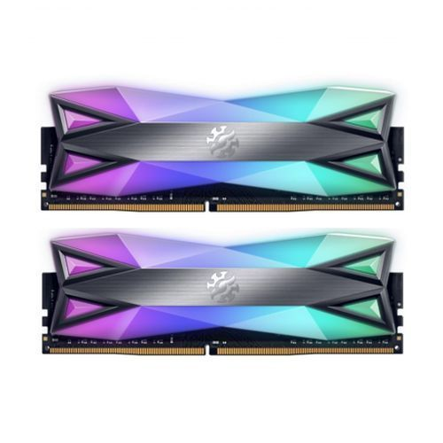 ADATA XPG Spectrix D60G RGB LED 32GB (2 x 16GB), DDR4, 3200MHz (PC4-25600) CL16, XMP 2.0, DIMM Memory
