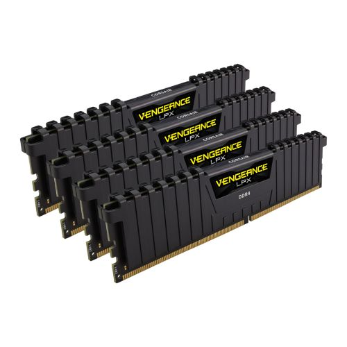 Corsair Vengeance LPX 32GB Memory Kit (4 x 8GB), DDR4, 3600MHz (PC4-28800), CL18, XMP 2.0