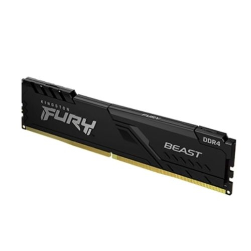 Kingston Fury Beast 8GB, DDR4, 3200MHz (PC4-25600), CL16, DIMM Memory