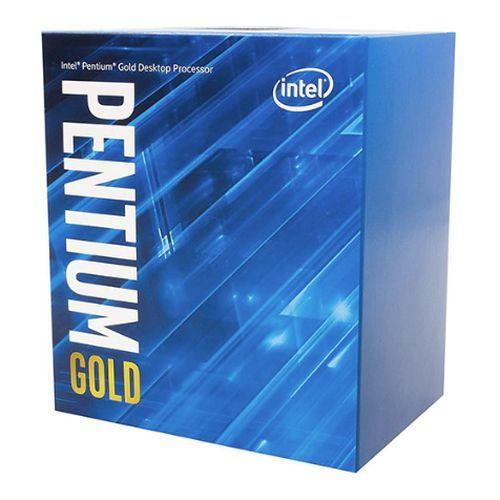 Intel Pentium Gold G6400 CPU, 1200, 4.0 GHz, Dual Core, 58W, 14nm, 4MB Cache, Comet Lake