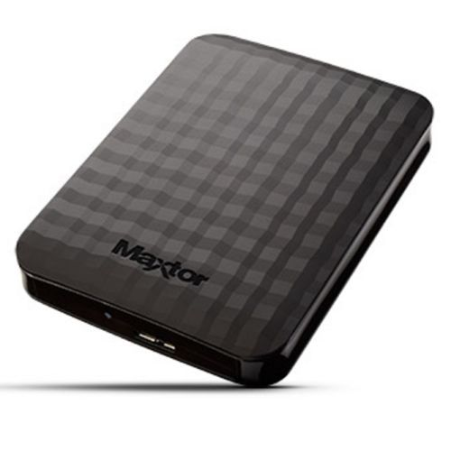 Maxtor M3 Portable 1TB External Hard Drive, 2.5