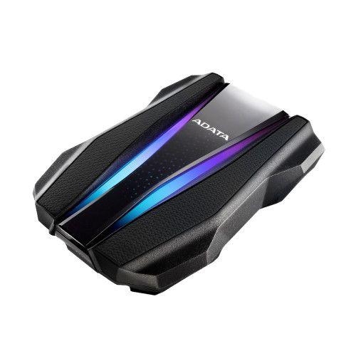 ADATA HD770G 1TB RGB External Hard Drive, 2.5