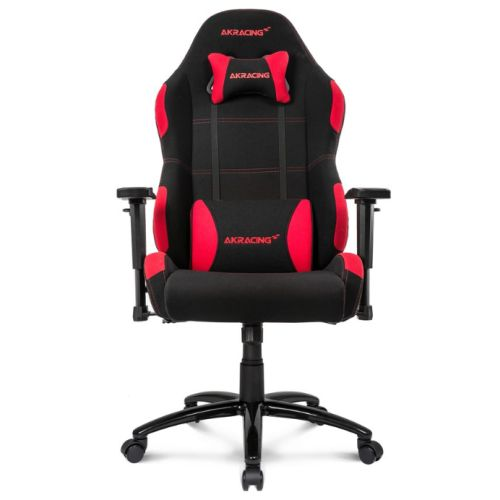 AKRacing Core Series EX-Wide Gaming Chair, Black & Red, 5/10 Year Warranty