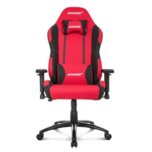 AKRacing Core Series EX-Wide Gaming Chair, Red/Black, 5/10 Year Warranty