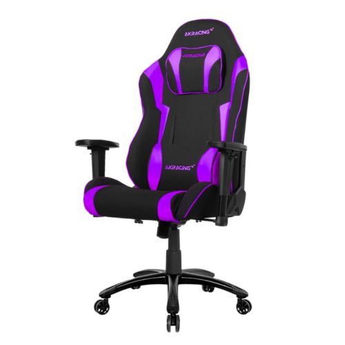 AKRacing Core Series EX-Wide Gaming Chair, Black/Indigo, 5/10 Year Warranty