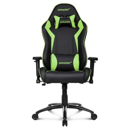 AKRacing Core Series SX Gaming Chair, Black & Green, 5/10 Year Warranty