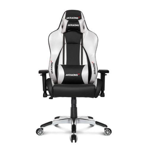AKRacing Masters Series Premium Gaming Chair, Black & Silver, 5/10 Year Warranty