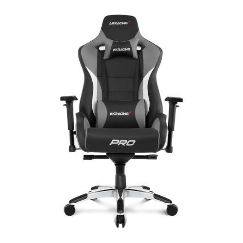 AKRacing Masters Series Pro Gaming Chair, Black & Grey, 5/10 Year Warranty