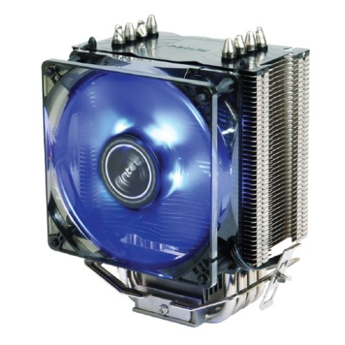 Antec A40 PRO Heatsink & Fan, Intel & AMD Sockets, Whisper-quiet 9.2cm LED PWM Fan, Fluid Dynamic Bearing
