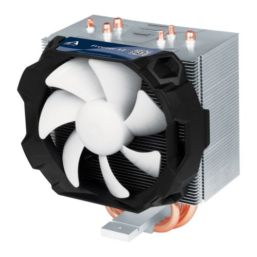 Arctic Freezer 12 Compact Semi Passive Heatsink & Fan, Intel & AM4 Sockets, Fluid Dynamic Bearing, 6 Year Warranty