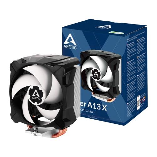 Arctic Freezer A13 X Compact Heatsink & Fan, AMD AM4, 92mm PWM Fan, Fluid Dynamic Bearing, 150W TDP, 6 Year Warranty