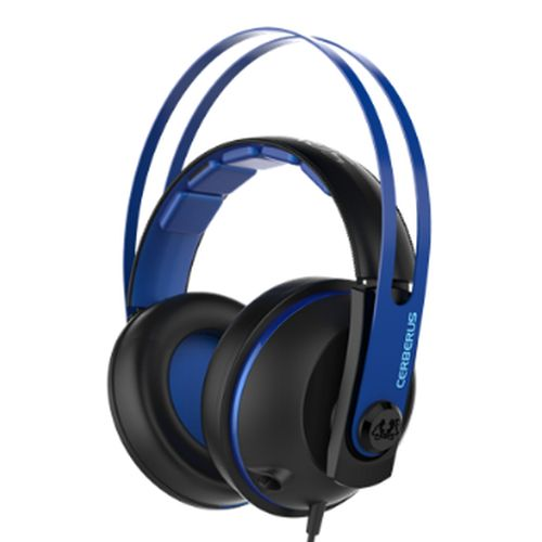 Asus CERBERUS Gaming Headset V2, 53mm Drivers, Braided Cable, Blue