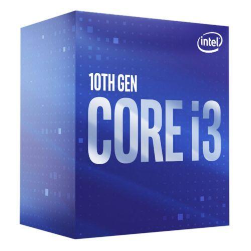Intel Core I3-10100 CPU, 1200, 3.6 GHz (4.3 Turbo), Quad Core, 65W, 14nm, 6MB Cache, Comet Lake